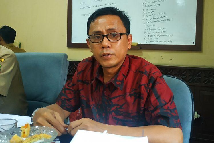 Ketua Badan Pembentukan Peraturan Daerah (Bapperda) DPRD Kota Bekasi, Nicodemus Godjang.