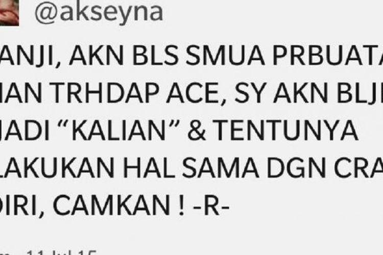 Akun @akseyna