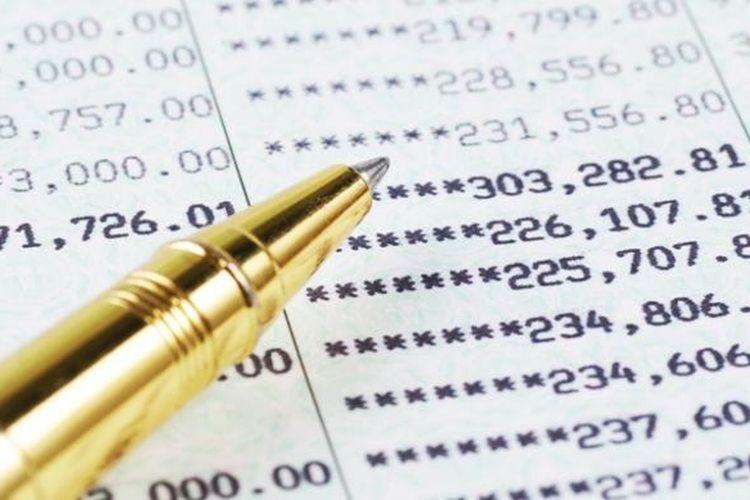 Ilustrasi rekening bank
