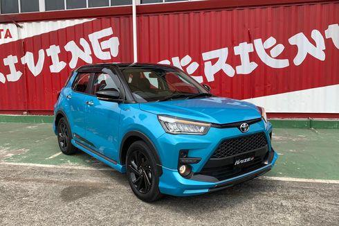 Mau Inden Toyota Raize, Model Mana yang Lebih Cepat Sampai Rumah?