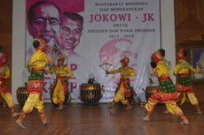 Dukung Jokowi, Keluarga Ibu Fatmawati Gelar Tari