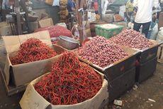 Jelang Natal, Harga Bawang Merah Melonjak di Pasar Kramat Jati, Cabai Merah Turun