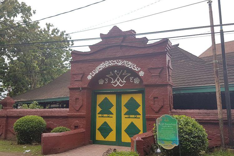 Masjid Sang Cipta Rasa di Cirebob, peninggalan sejarah Islam di Indonesia yang dibangun pada 1489.