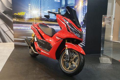 Modifikasi Honda PCX 160 Advance Sporty, Jadi Skuter Moge