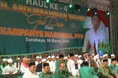 PPP Bungkus Kampanye dengan Haul Ke-4 Gus Dur