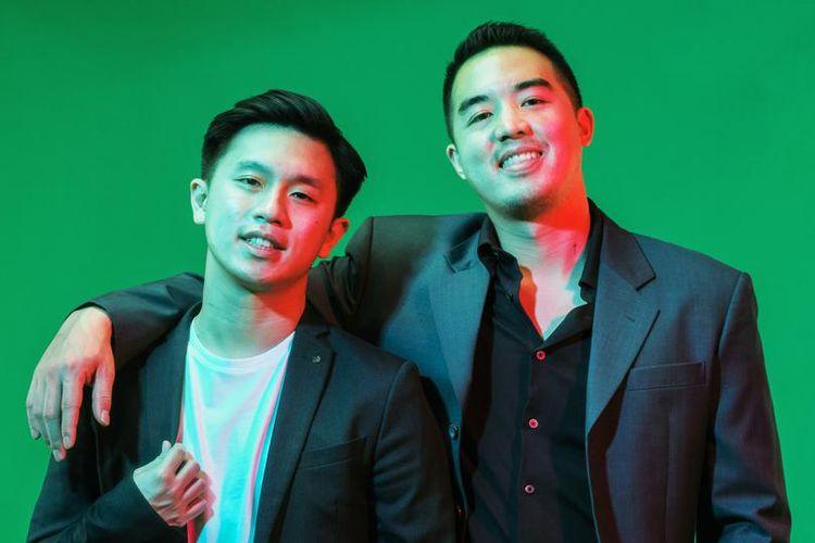 Joseph Alexander Ananto (26) dan Martin Reyhan Suryohusodo (23) pendiri start up jaringan bengkel mobil Otoklix.
