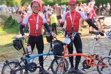 Dengan Sepeda Lipat, 2 Pesepeda Indonesia Taklukkan Paris-Brest-Paris Sejauh 1.200 Km
