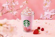 Musim Sakura di Jepang, Starbucks Jepang Hadirkan Frappuccino Sakura