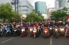 Hari Pahlawan, Buruh Tutup Jalan Gubernur Suryo