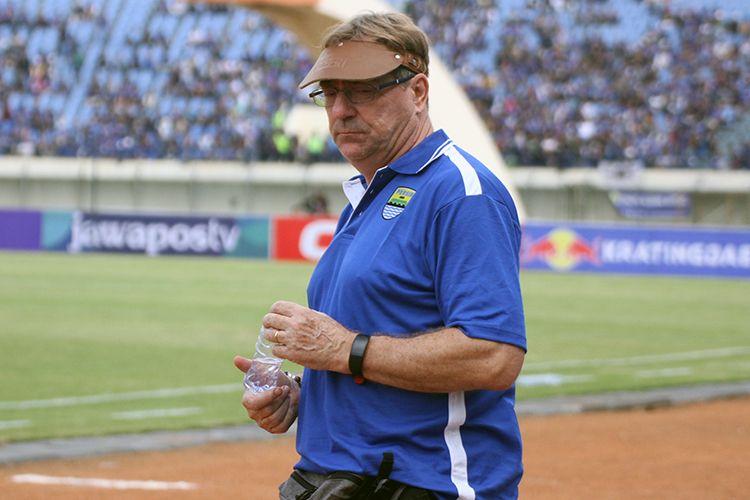 Pelatih Persib Bandung, Robert Rene Alberts. (KOMPAS.com/SEPTIAN NUGRAHA)