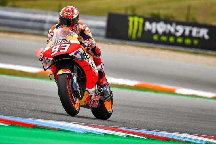 Marc Marquez menang di GP Brno.