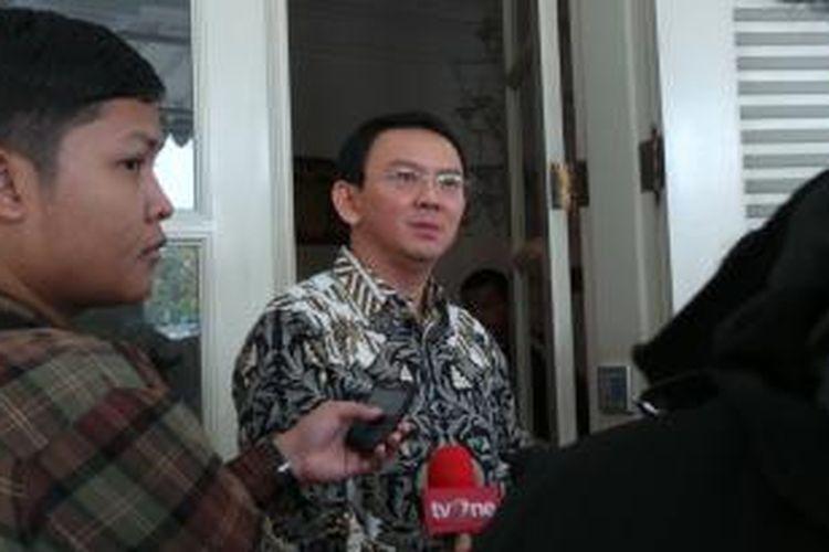 Gubernur DKI Jakarta Basuki Tjahaja Purnama, di Balai Kota, Rabu (25/3/2015).