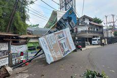 Polisi Akan Panggil Transjakarta Terkait Insiden Baliho dan Tiang Ambruk di Cirendeu