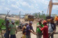 Tagih Dana CSR, Warga Gunungan Magetan Blokade Proyek Tol Solo-Kertosono