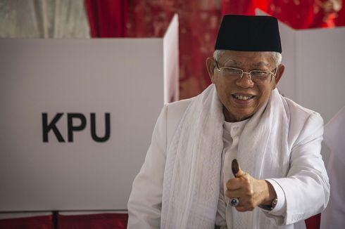 KPU: Sudah Diverifikasi, Ma'ruf Amin Bukan Karyawan atau Pejabat BUMN