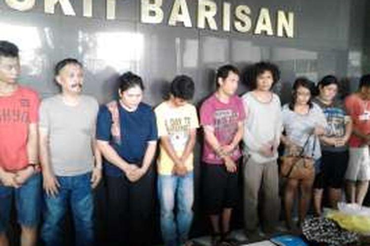 Kodam I Bukit Barisan menertibkan dan mengosongkan sembilan unit rumah dinas di Asrama TNI Abdul Hamid Medan