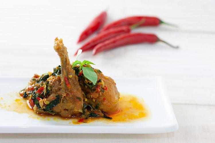 Ilustrasi Ayam Woku