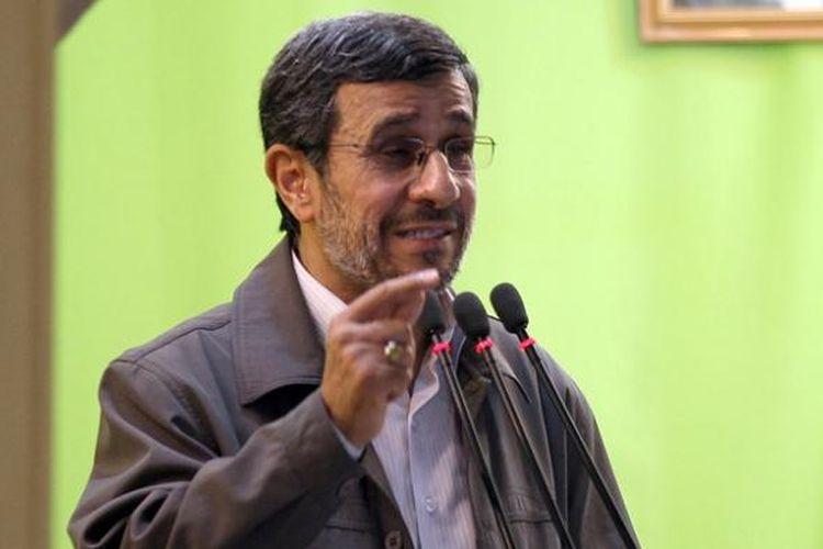 Mantan Presiden Iran Mahmoud Ahmadinejad.
