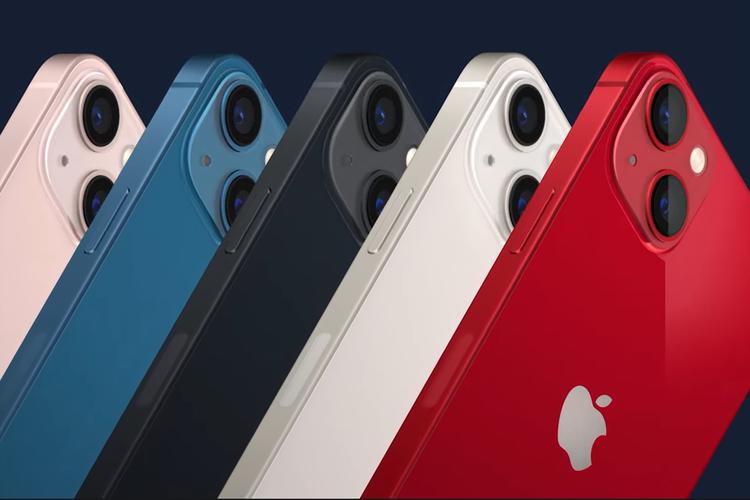 Pilihan warna iPhone 13