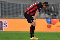 Cedera Lutut, Zlatan Ibrahimovic Menepi hingga Akhir Musim?