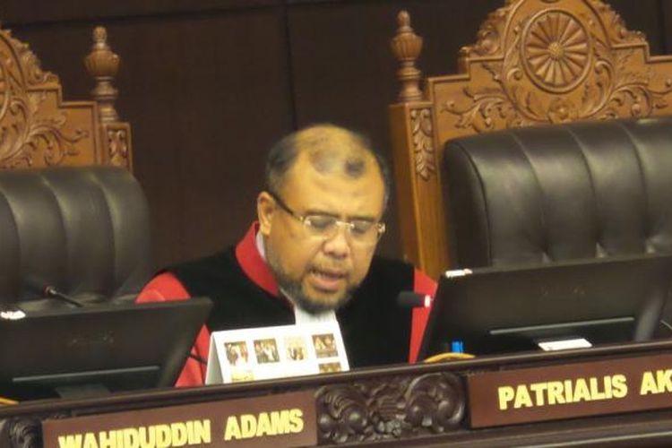 Hakim Mahkamah Konstitusi Patrialis Akbar