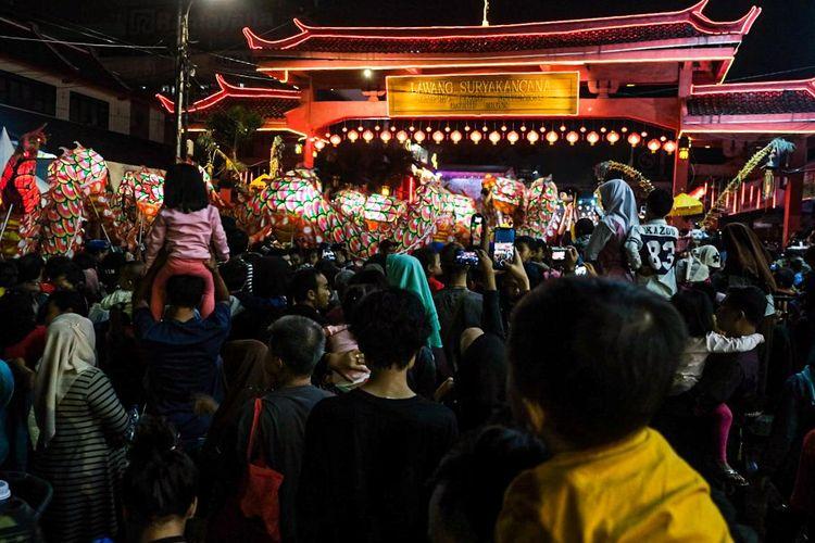 Jalan Suryakencana saat berlangsung Bogor Street Festival CGM 2020. Jalan ini akan menjadi jalan terbaik di Bogor.