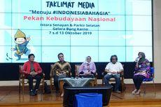 Kemendikbud Siap Gelar Pekan Kebudayaan Nasional Bulan Oktober