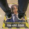 Lakukan Protes, Toko di Libya Jadikan Wajah Presiden Perancis untuk Alas Lantai