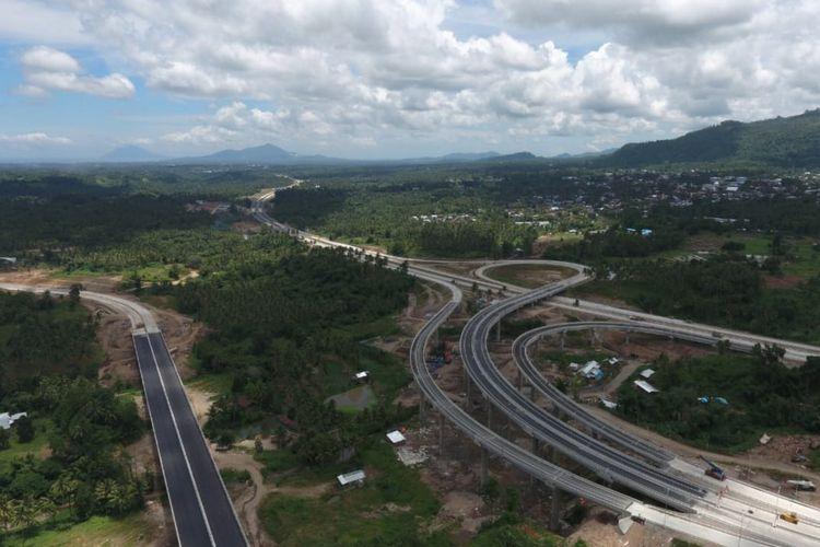 Tol Manado-Bitung ditargetkan operasional pada 2020.