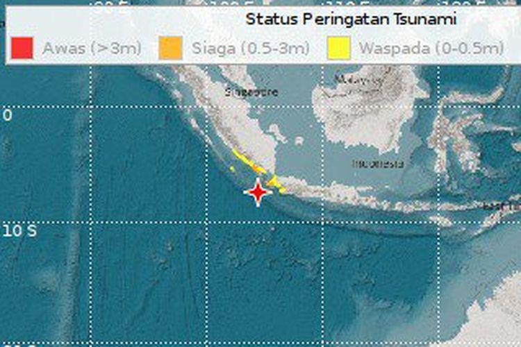 Gempa Guncang Jakarta Bermagnitudo 7 4 Berpusat Di Banten Dan Berpotensi Tsunami
