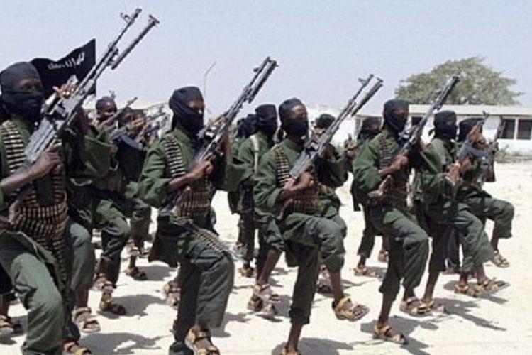 Pejuang kelompok teroris Al-Shabaab