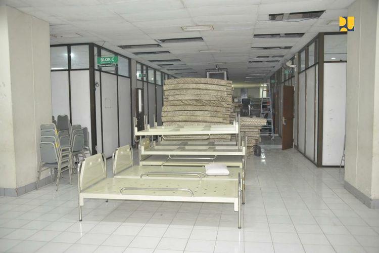 Rumah Sakit Darurat Asrama Haji Donohudan di Kabupaten Boyolali, Jawa Tengah