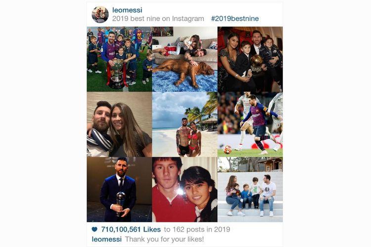 Bestnine Instagram 2019 Lionel Messi