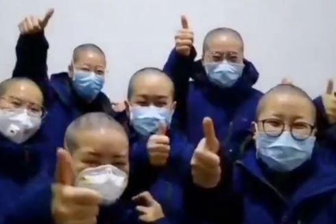 Perawat yang Tangani Pasien Virus Corona Jadi Gundul, Ini Alasannya...