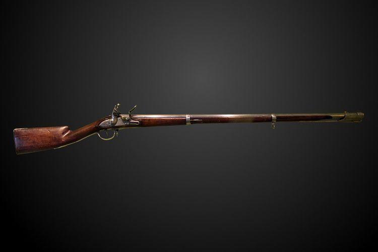 Senjata model 1777 yang dibuat oleh Perancis pada 1777. [Wikimedia Commons Via Oldest.org]