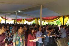 Wajah Sedih dan Gembira Warga Binaan Rayakan Natal di Rutan Cipinang
