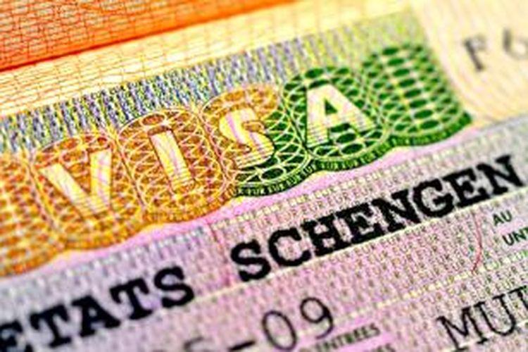 ILUSTRASI - Visa Schengen