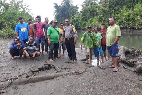 Petugas BKSDA Temukan Potongan Tubuh Petani yang Dimangsa Buaya