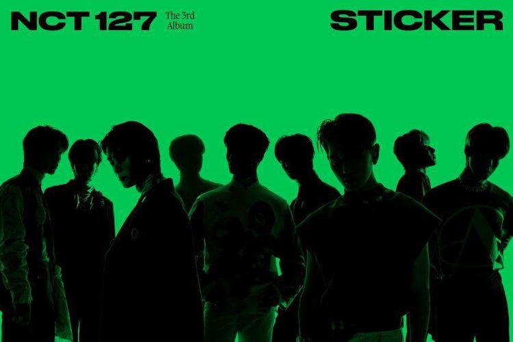 Cover album ketiga NCT 127 yang akan segera rilis bertajuk STICKER.