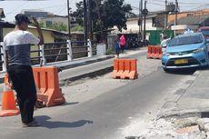 Jembatan Ambles di Tegal Alur Diperbaiki hingga Oktober, Arus Lalin Dialihkan