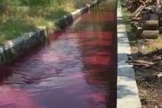Fakta Baru Air Irigasi di Klaten Berwarna Merah, Polisi Kantongi Identitas Terduga Pembuang Limbah
