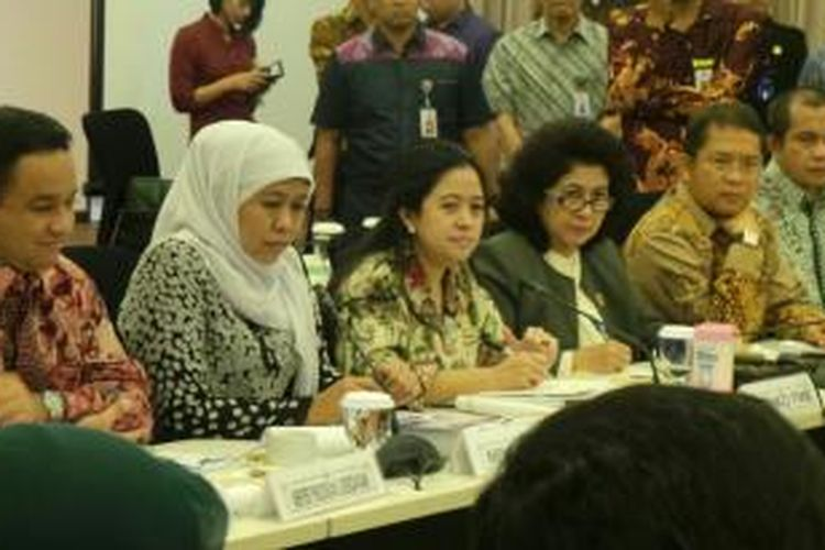 Konferensi pers mengenai Kartu Indonesia Sehat, Jumat (31/10/2014)