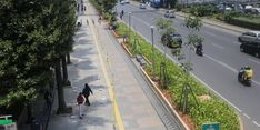 Revitalisasi Jalur Pedestrian DKI Manjakan Pejalan Kaki