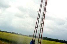 Semburan Lumpur Setinggi 30 Meter Muncul dari Lubang Galian Sumur di Grobogan