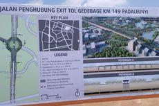 Aher: Desain Pintu Tol Gedebage Bandung Seperti di Luar Negeri