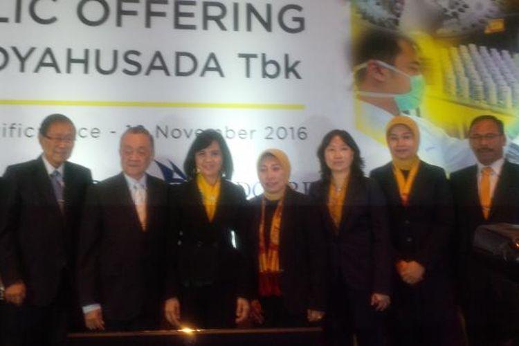Public Expose Prodia, di Hotel Ritz Carlton, Jakarta, (10/11)