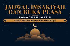 Jadwal Imsak dan Buka Puasa di Kota Medan Hari Ini, 8 Mei 2021