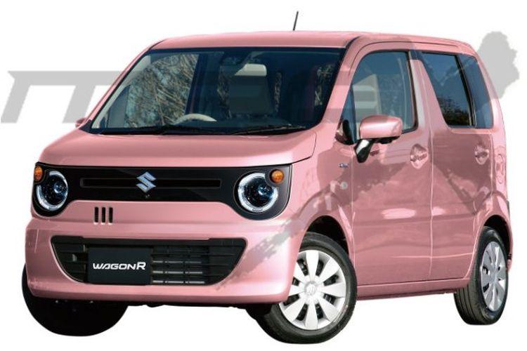 Ilustrasi rendering Suzuki Wagon R Smile