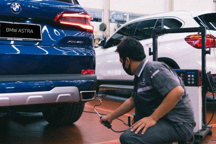 Uji Emisi Bengkel BMW Astra