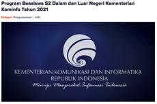 Kabar Baik! Pendaftaran Beasiswa S2 Luar Negeri Kominfo Diperpanjang